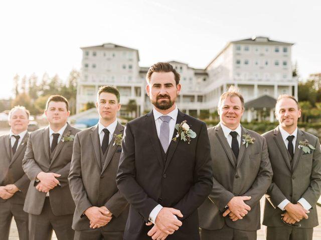 Matt and Allie's wedding in Sooke, British Columbia 6