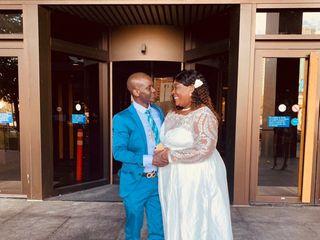 The wedding of Gwendolyn and Zanou 3