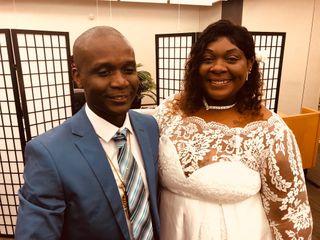The wedding of Gwendolyn and Zanou
