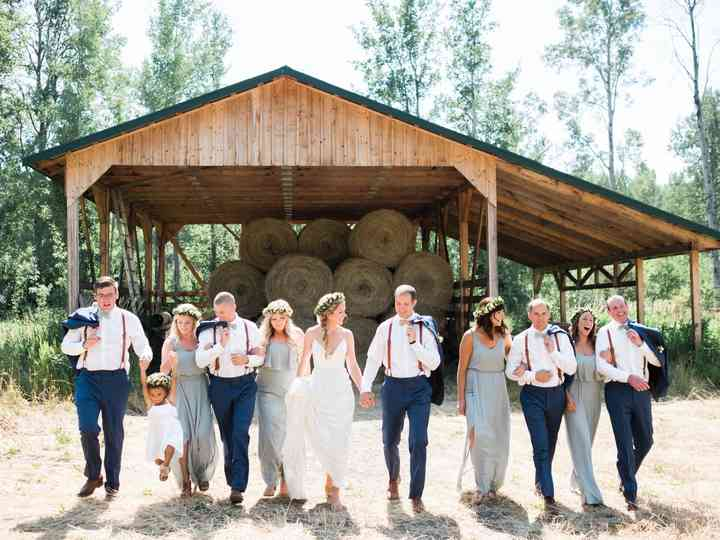 The wedding of Minette and Florian