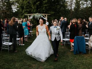 The wedding of Victoria and Alora