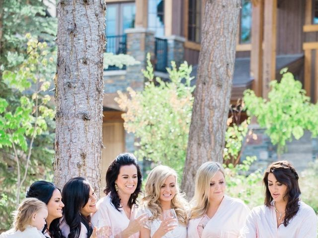 Nick and Shantel's wedding in Golden, British Columbia 11