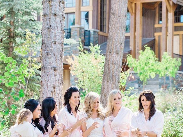 Nick and Shantel's wedding in Golden, British Columbia 12