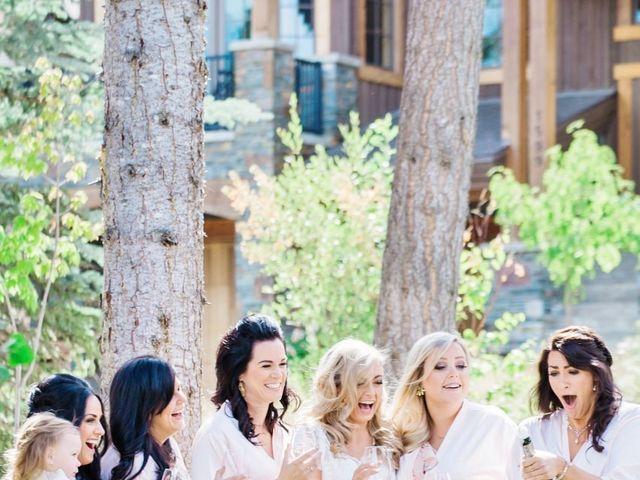 Nick and Shantel's wedding in Golden, British Columbia 14