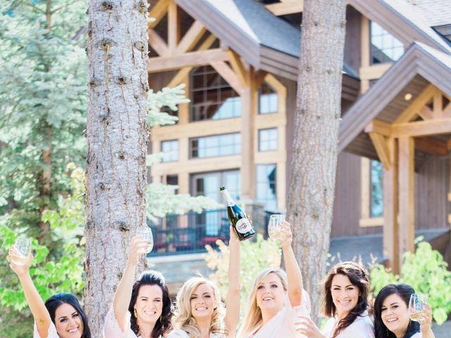 Nick and Shantel's wedding in Golden, British Columbia 17