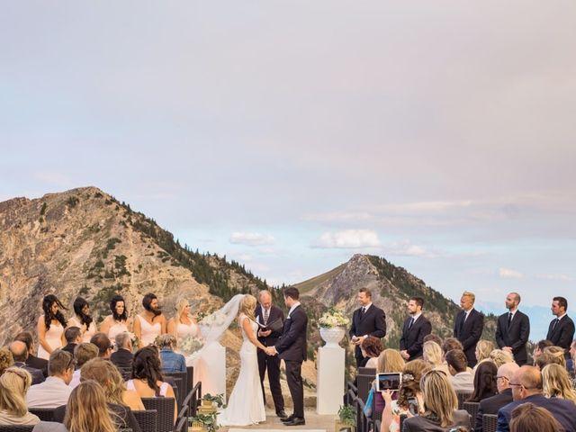 Nick and Shantel's wedding in Golden, British Columbia 61