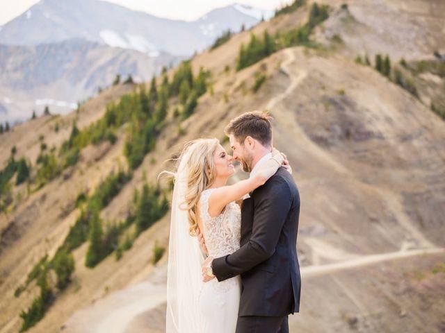 Nick and Shantel's wedding in Golden, British Columbia 82