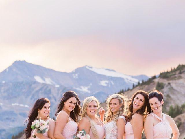 Nick and Shantel's wedding in Golden, British Columbia 90