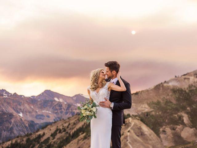 Nick and Shantel's wedding in Golden, British Columbia 96