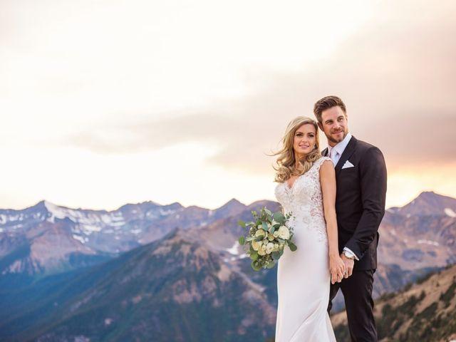 Nick and Shantel's wedding in Golden, British Columbia 97