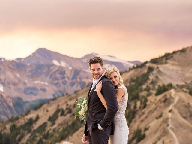 Nick and Shantel's wedding in Golden, British Columbia 98