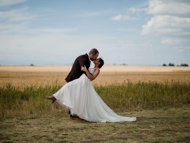 The wedding of Ashley and Bob