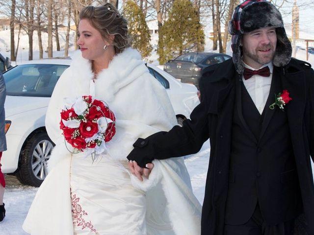 Daniel and Tammy's wedding in Saint-Eustache, Quebec 1