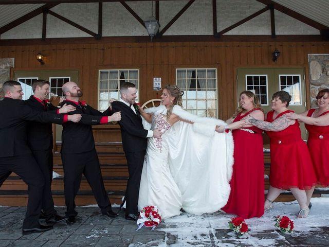 Daniel and Tammy's wedding in Saint-Eustache, Quebec 2