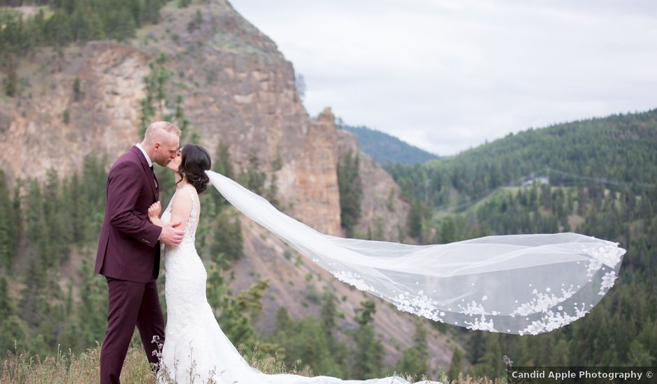 Jerod and Samantha's wedding in Kelowna, British Columbia