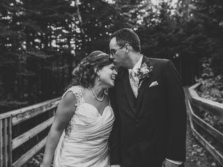 The wedding of Amanda and Jason