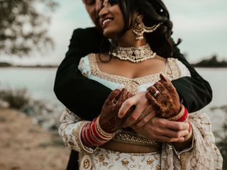 The wedding of Param and Adam 3