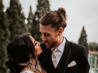 The wedding of Param and Adam