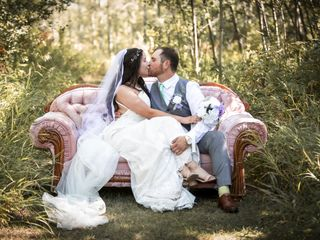 The wedding of Shelby and Justin
