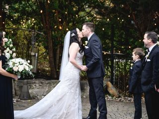 The wedding of Christina and Chris