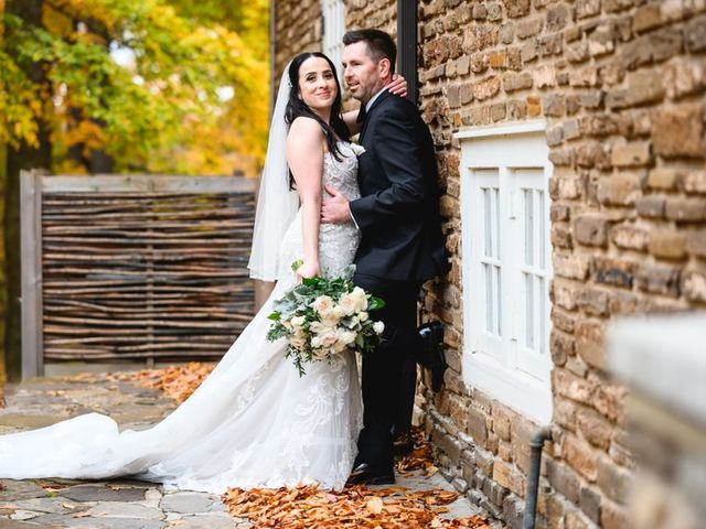 Chris and Christina's wedding in Mississauga, Ontario 1