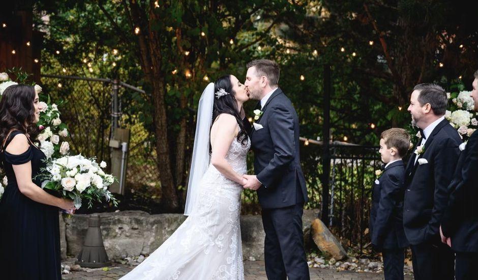 Chris and Christina's wedding in Mississauga, Ontario