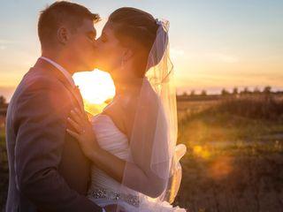 The wedding of Lisa and Ken
