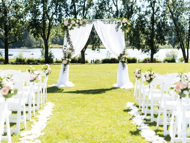 Cody and Geneva's wedding in Burnaby, British Columbia 1