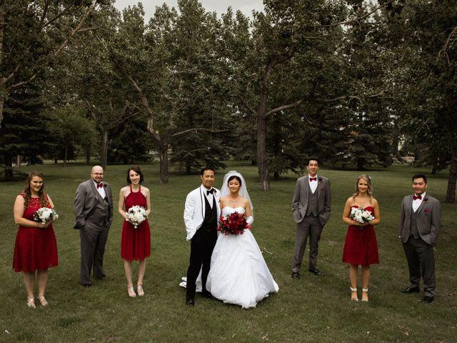 Justin and Kaede's wedding in Calgary, Alberta 7