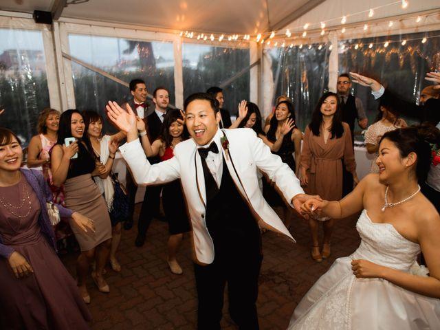 Justin and Kaede's wedding in Calgary, Alberta 12