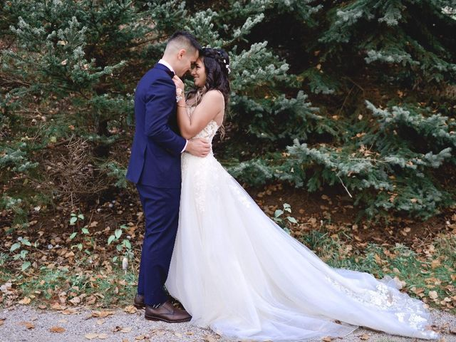 Kevin and Melissa's wedding in Stouffville, Ontario 1