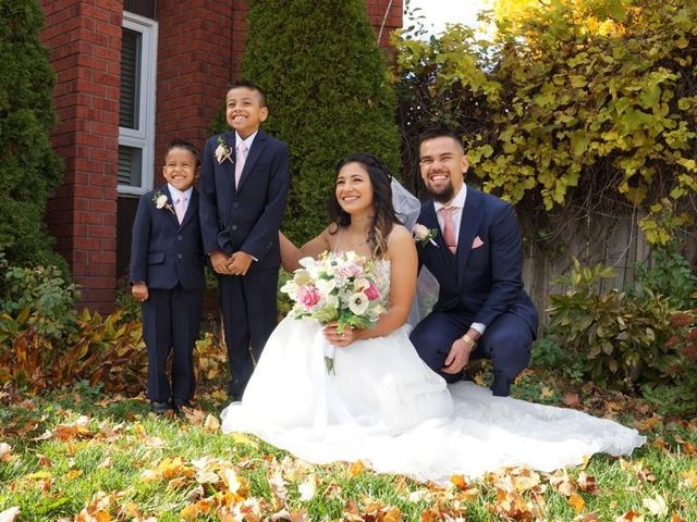 Kevin and Melissa's wedding in Stouffville, Ontario 2