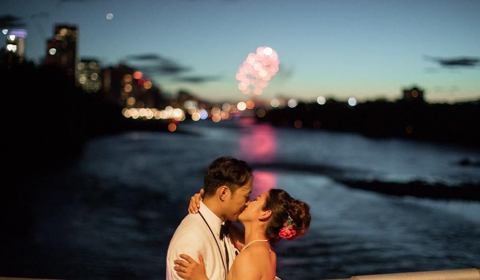 Justin and Kaede's wedding in Calgary, Alberta