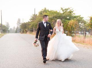 The wedding of Devon and Blake