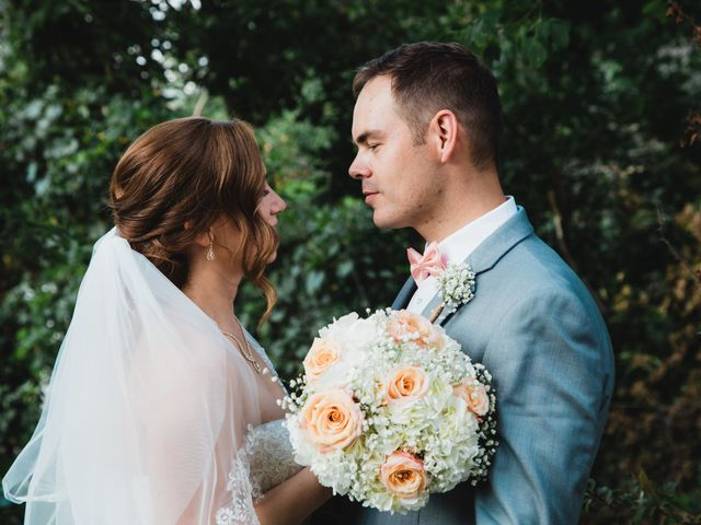 The wedding of Marshall and Laura