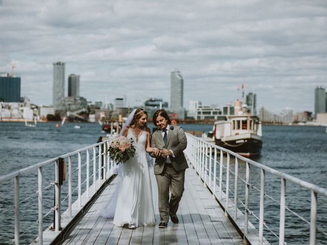 The wedding of Ria and Matthew
