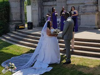 The wedding of Minion and Dawda