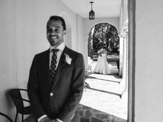 The wedding of Alessandra and Scott