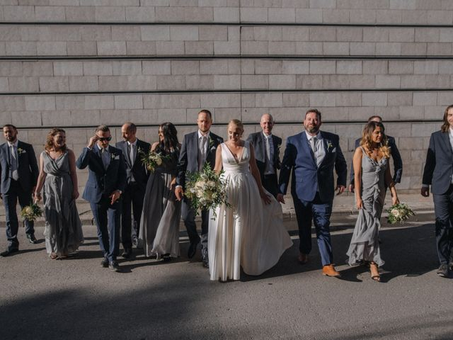 Luke and Melissa's wedding in Montreal, Quebec 1