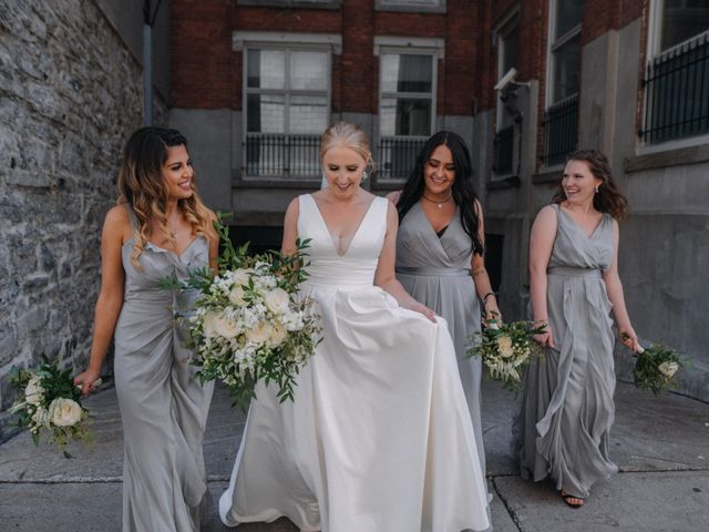 Luke and Melissa's wedding in Montreal, Quebec 12