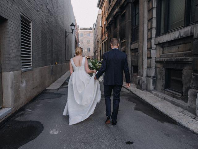 Luke and Melissa's wedding in Montreal, Quebec 14