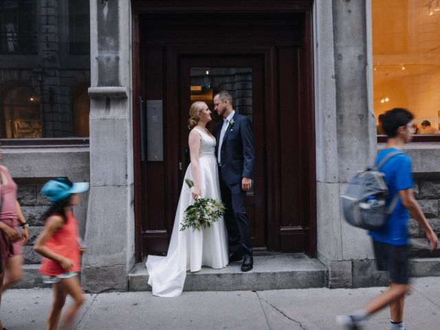 Luke and Melissa's wedding in Montreal, Quebec 18