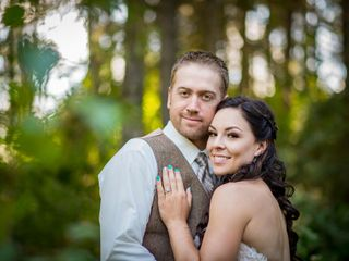 The wedding of Brittany and Aaron