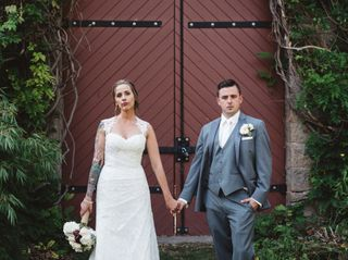 The wedding of Melissa and Kyle