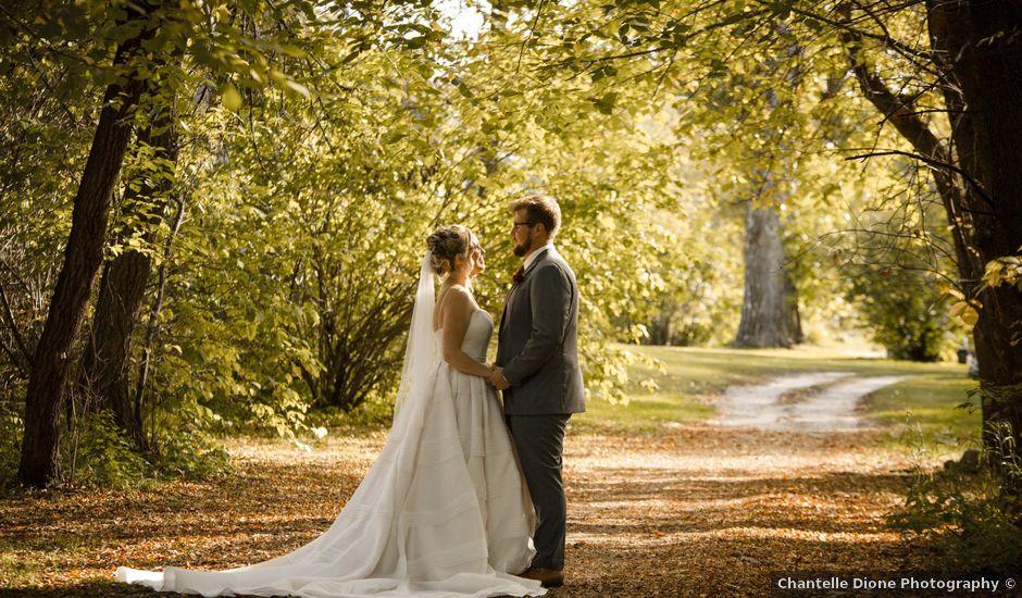 Jared and Jacie's wedding in Elm Creek, Manitoba