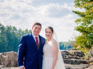The wedding of Darryl and Megan