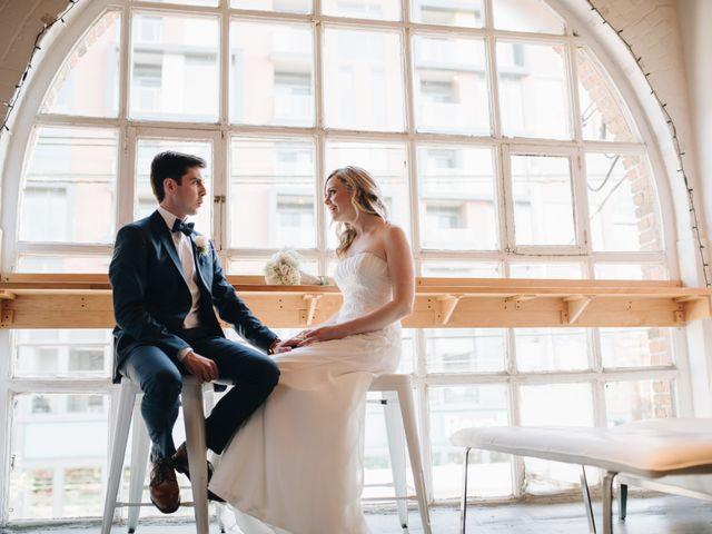 The wedding of Mark and Nicola