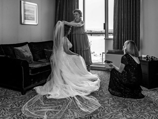 Jordan and Stephanie's wedding in New Westminster, British Columbia 9