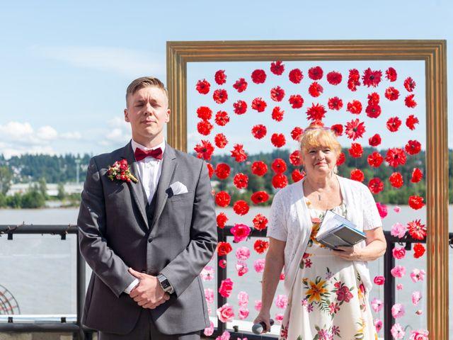 Jordan and Stephanie's wedding in New Westminster, British Columbia 26