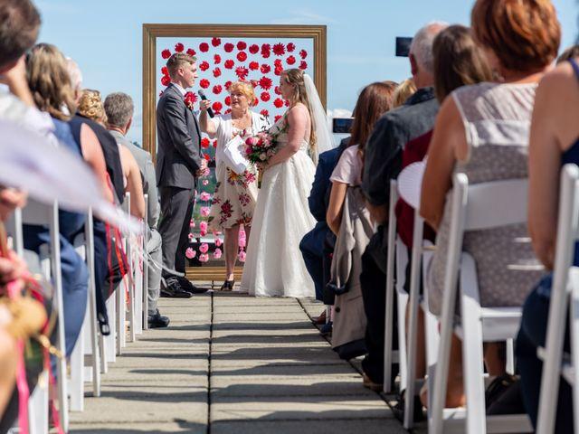 Jordan and Stephanie's wedding in New Westminster, British Columbia 30